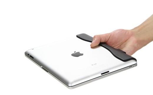 Am iPad montierte Brydge Tastatur