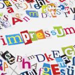 Impressum | Internet | Zeitung | Buchstaben