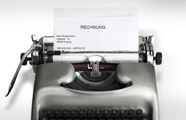 Rechnungen Mit Word Und Excel Schreiben Ist Unprofessionell